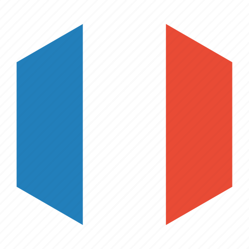 country, flag, france, world icon
