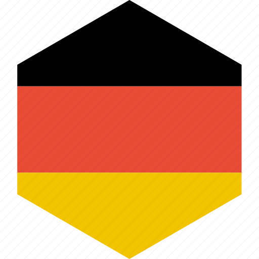 country, flag, germany, world icon