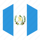 country, flag, guatemala, world icon