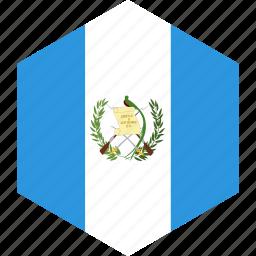 country, flag, guatemala, world icon