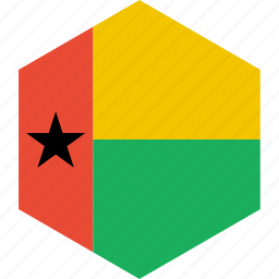 bissau, country, flag, guinea, world icon