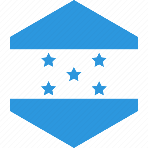 country, flag, honduras, world icon