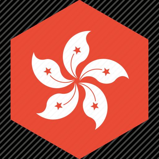 country, flag, hongkong, world icon