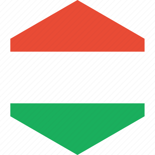 country, flag, hungary, world icon