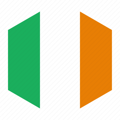 country, flag, ireland, world icon