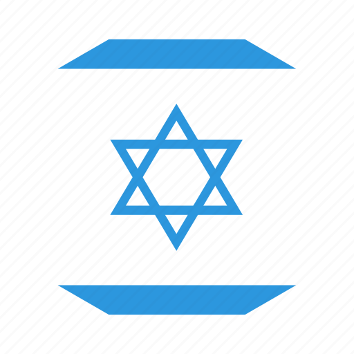 country, flag, israel, world icon