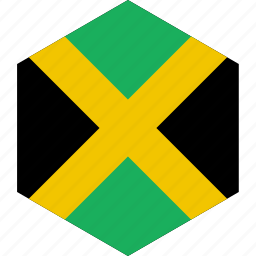 country, flag, jamaica, world icon