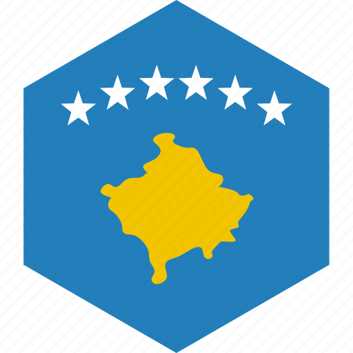 country, flag, kosovo, world icon