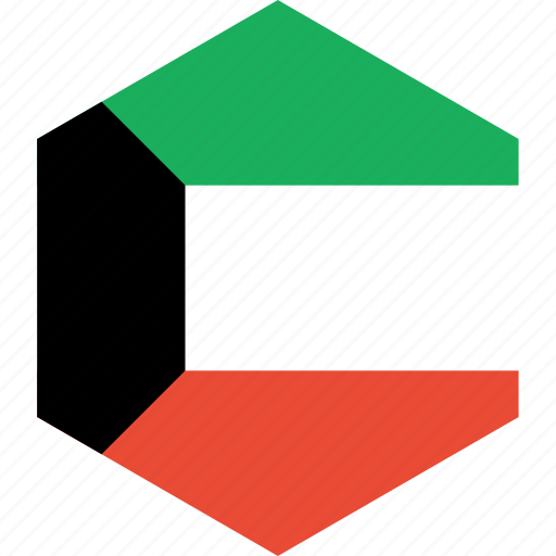 country, flag, kuwait, world icon