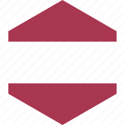 country, flag, latvia, world icon