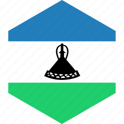 country, flag, lesotho, world icon