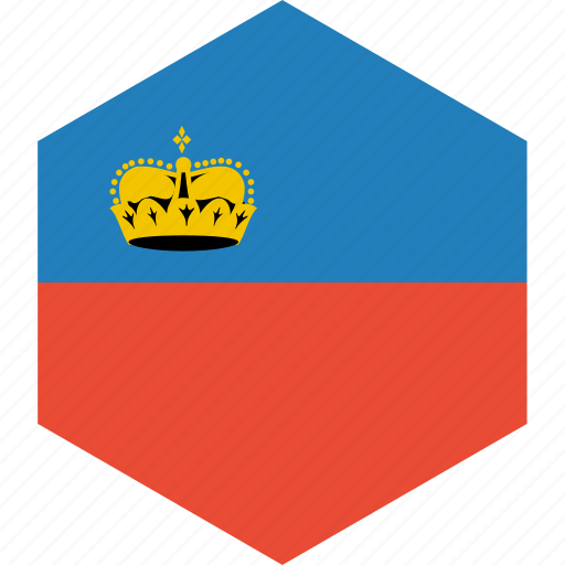 country, flag, liechtenstein, world icon