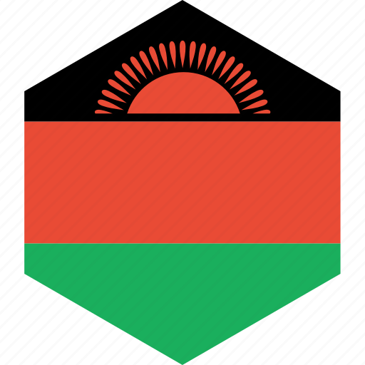 country, flag, malawi, world icon
