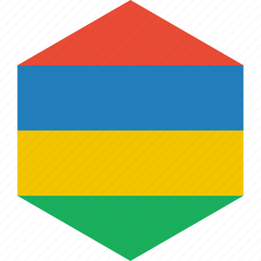 country, flag, mauritius, world icon