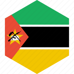 country, flag, mozambique, world icon