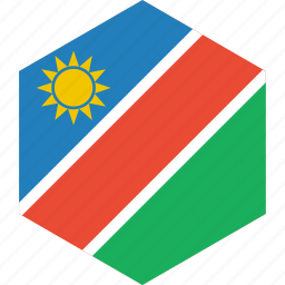 country, flag, namibia, world icon