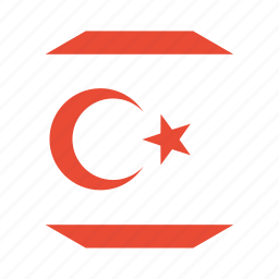 country, cyprus, flag, northern, world icon
