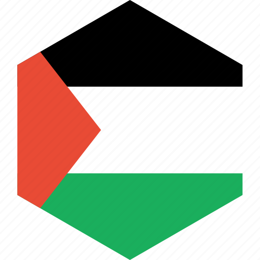 country, flag, palestine, world icon