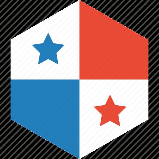 country, flag, panama, world icon