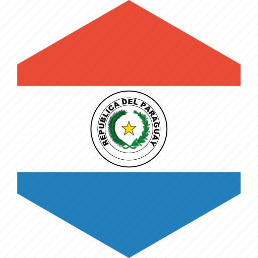 country, flag, paraguay, world icon