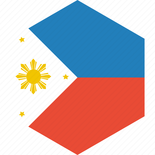 country, flag, philippines, world icon