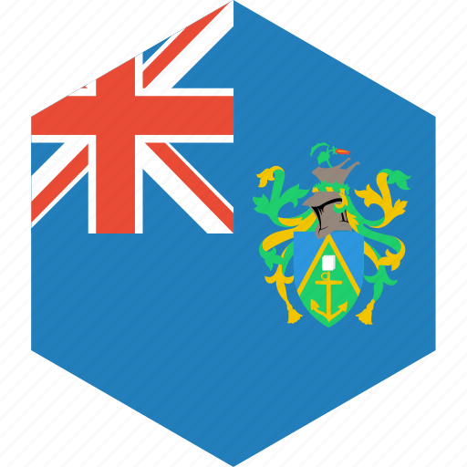 country, flag, islands, pitcairn, world icon
