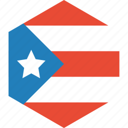 country, flag, puerto, rico, world icon