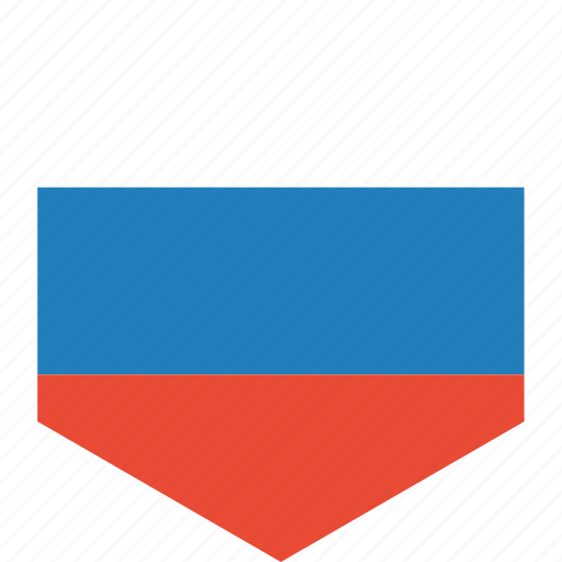 country, flag, russia, world icon