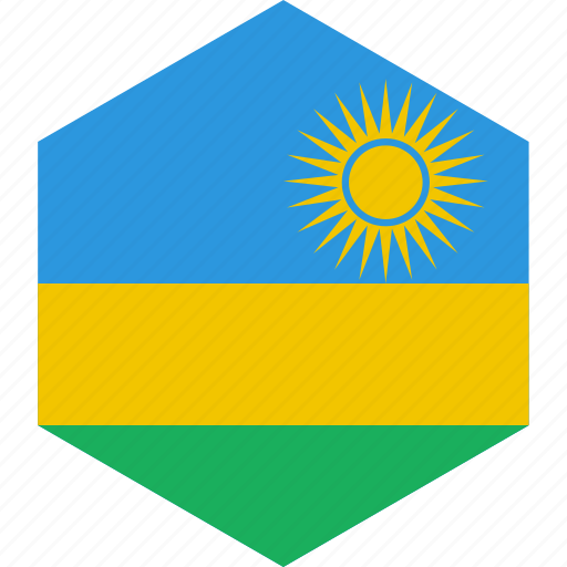 country, flag, rwanda, world icon