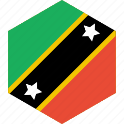and, country, flag, kitts, nevis, saint, world icon