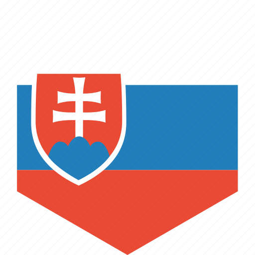 country, flag, slovakia, world icon