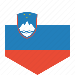 country, flag, slovenia, world icon