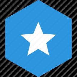 country, flag, somalia, world icon