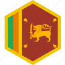 country, flag, lanka, sri, world icon