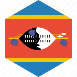 country, flag, swaziland, world icon