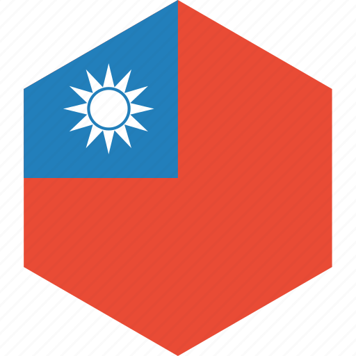 country, flag, taiwan, world icon