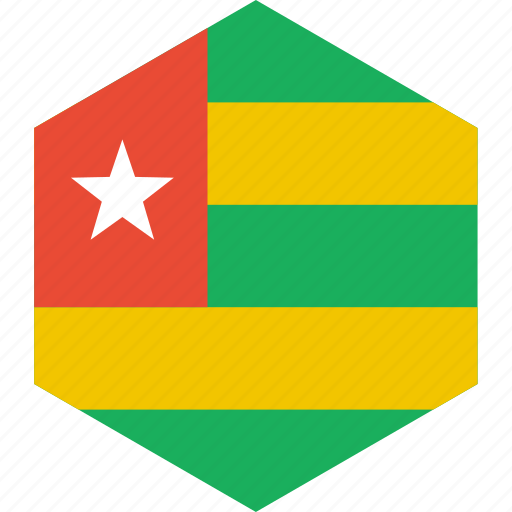 country, flag, togo, world icon