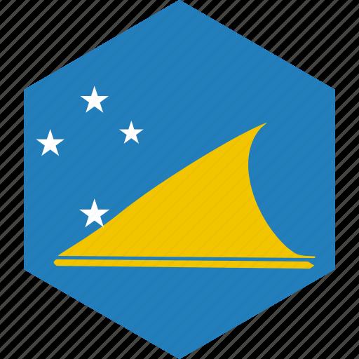 country, flag, tokelau, world icon