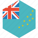 country, flag, tuvalu, world icon