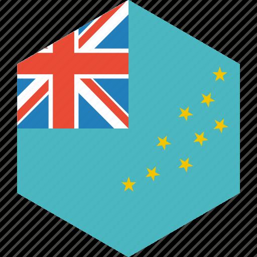 country, flag, tuvalu, world icon