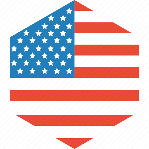 country, flag, states, united, world icon