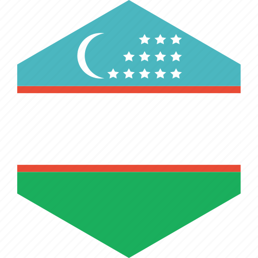 country, flag, uzbekistan, world icon