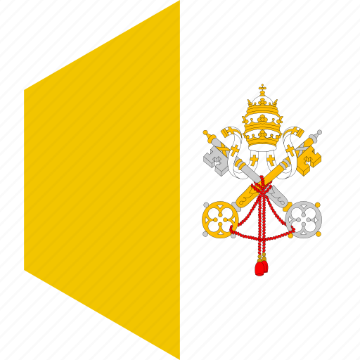 country, flag, vatican, world icon