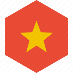 country, flag, vietnam, world icon