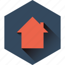 back home, home, homeward, profile, ui, user icon