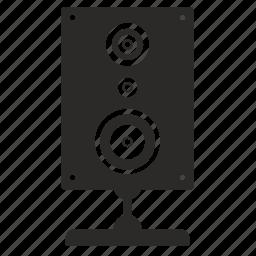 music, sound, speaker, system icon