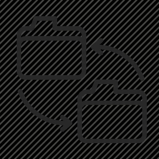 data, folder, internet, server, storage icon