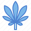 botanical, cannabis, leaf, weed icon