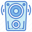 audio, musical, speaker, technology icon