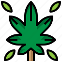 drug, healthcare, illegal, leaf, marijuana, weed icon